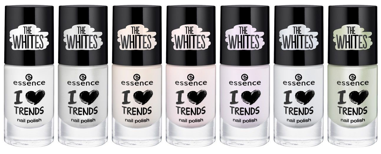 Collection I love Trends The Whites de chez Essence