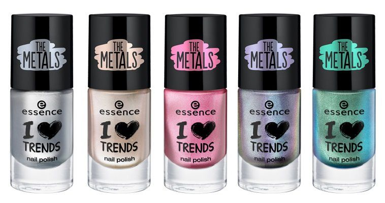 Collection I love Trends The Metals part1