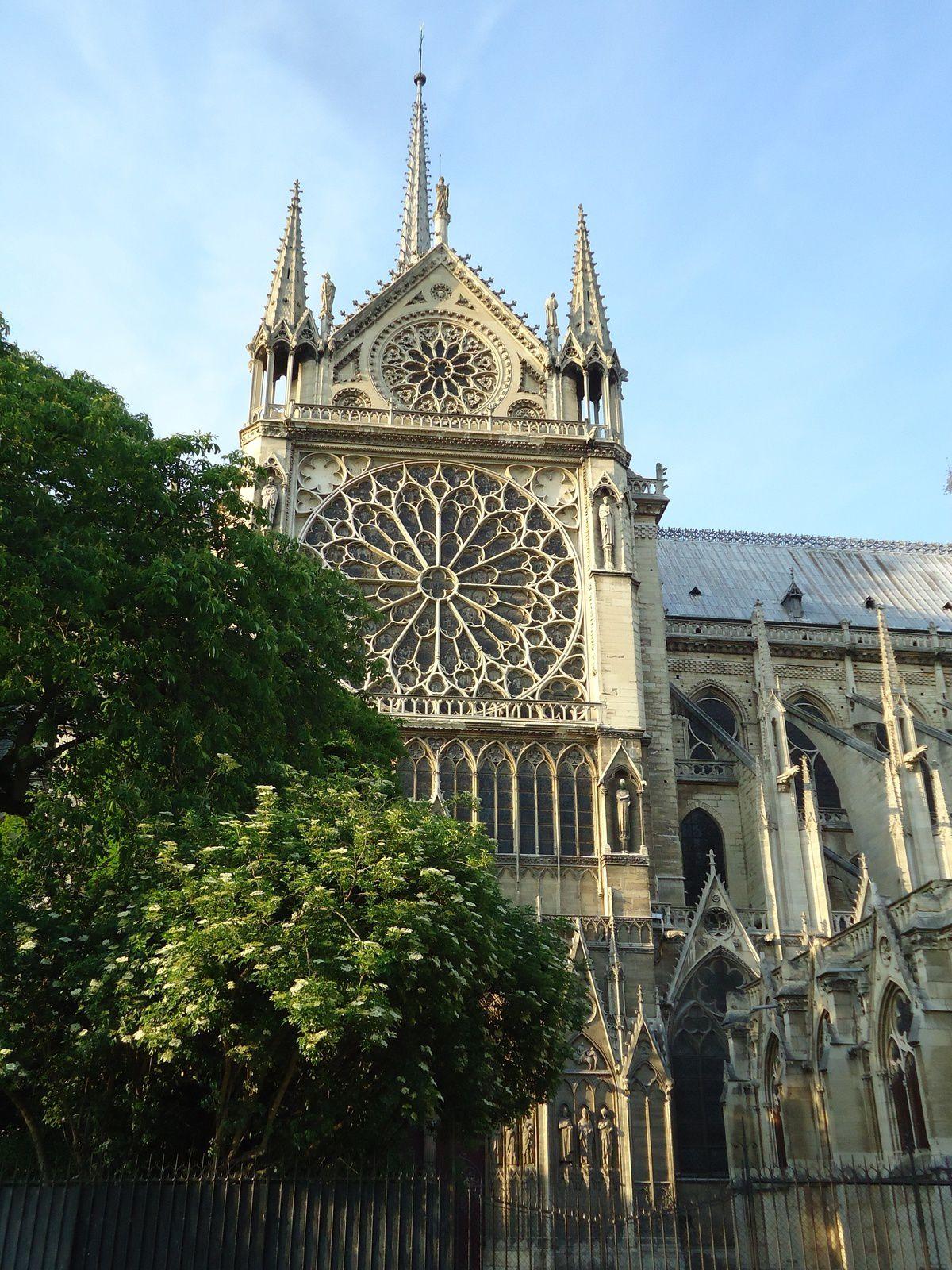 Notre Dame de Paris et Pont des amoureux