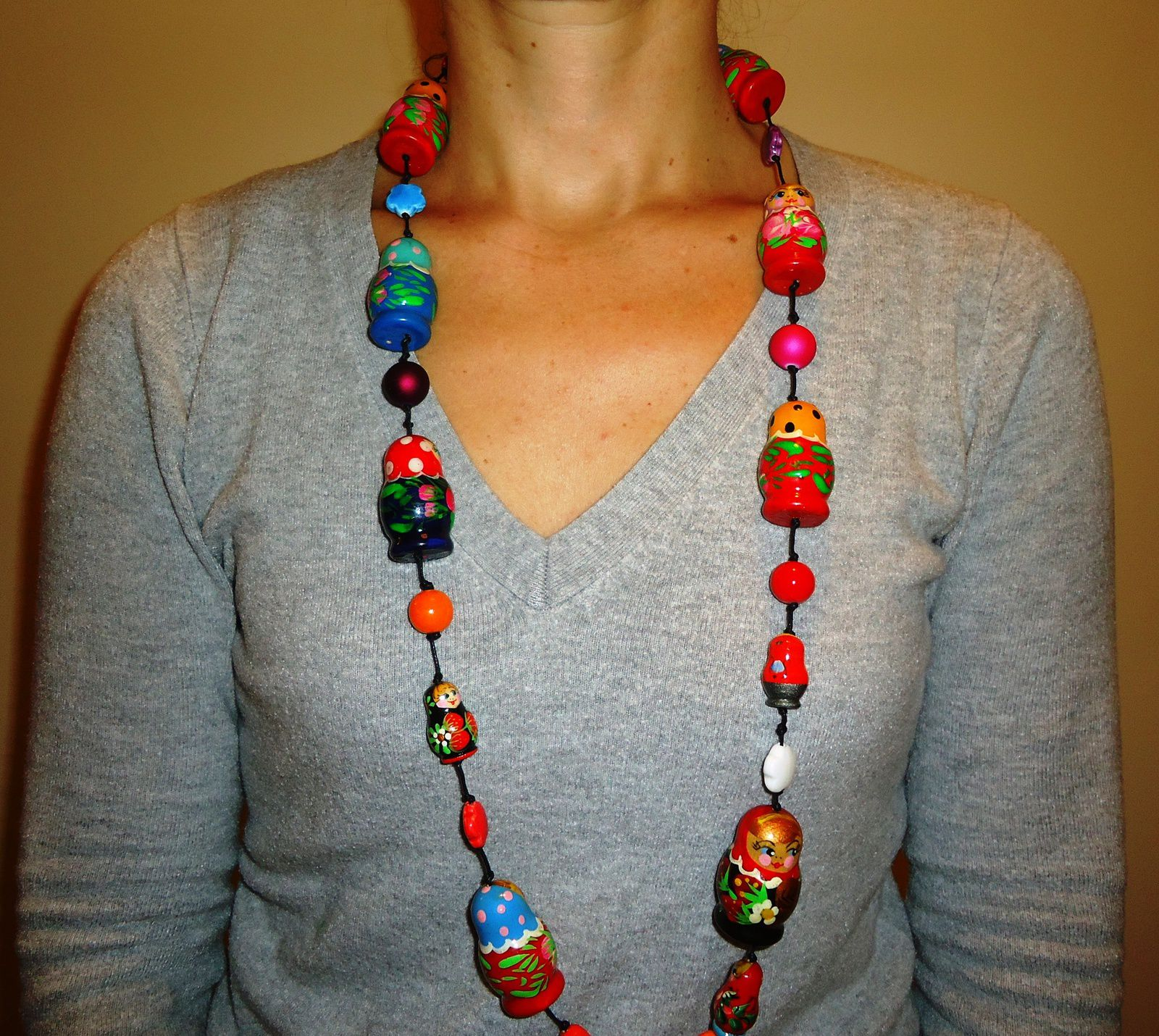 Collier Matriochkas by Ursula