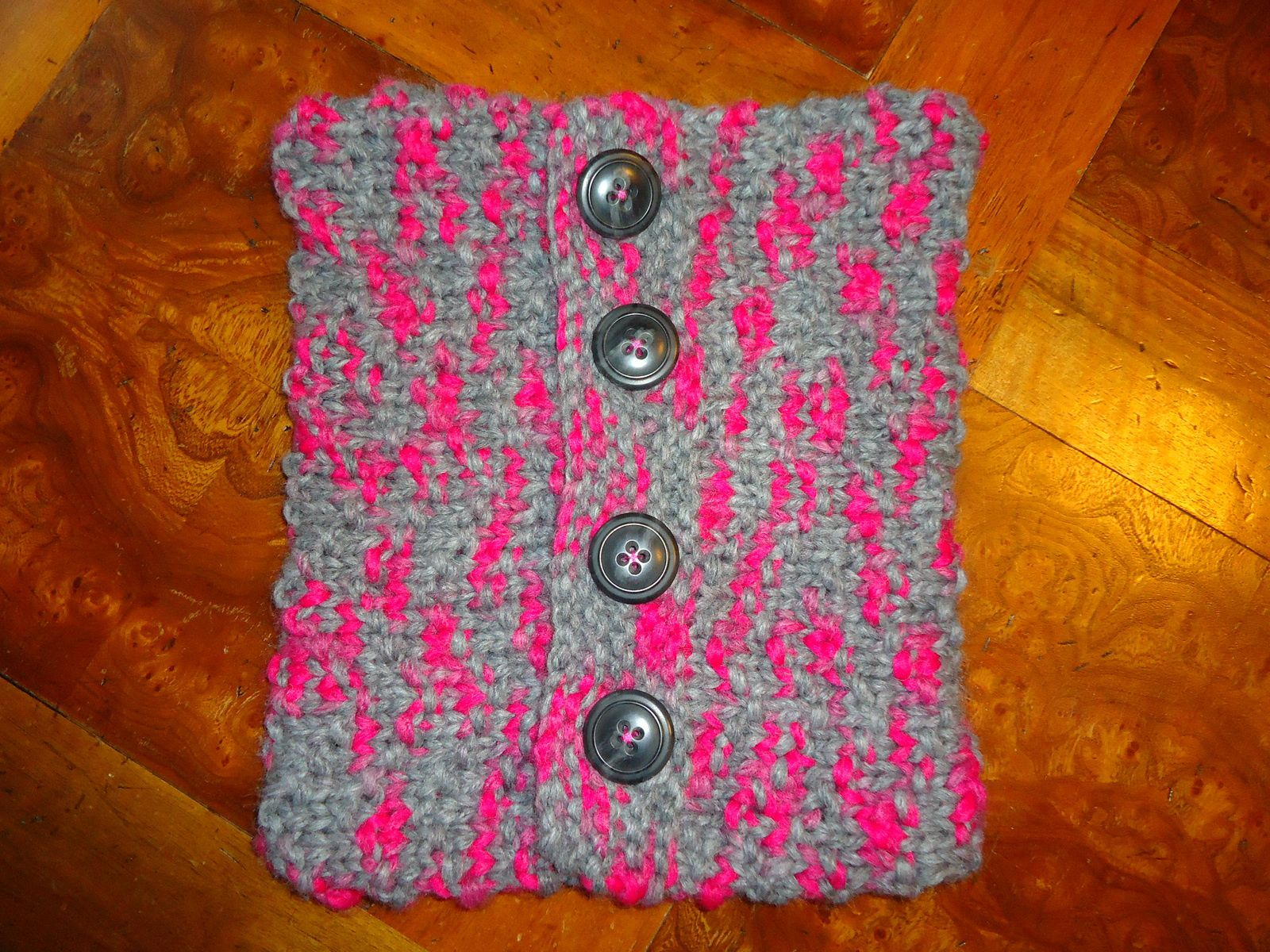 Snood à motif chevron