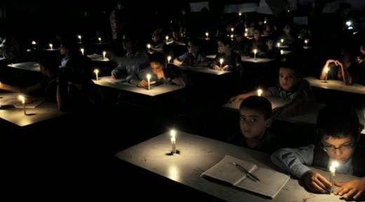 Gaza al gelo e al buio ma i media non ne parlano