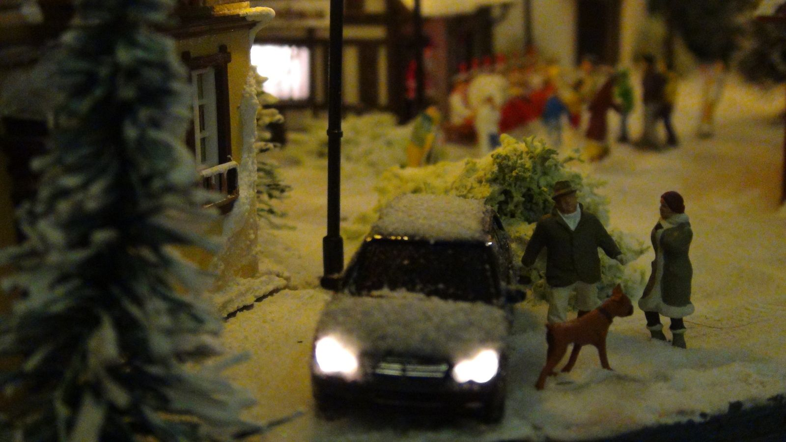 Diorama de Noël de Serge Julienne