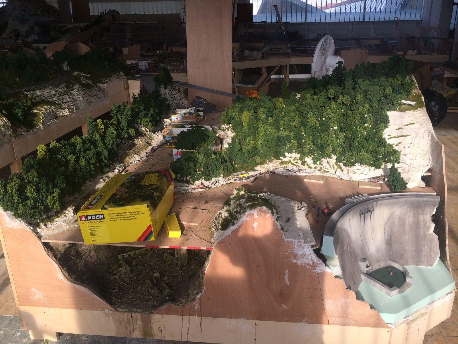 Photos de la Construction, semaine du 26 au 30 Mai 2014 - Mini World Lyon
