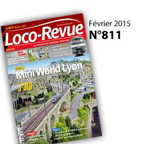 Mini World Lyon à l'honneur dans le magazine Loco Revue de Février 2015