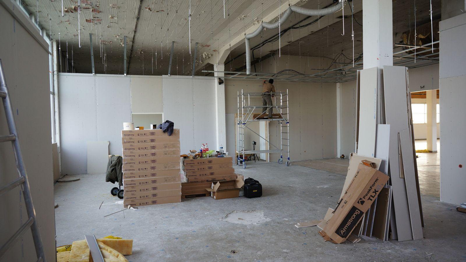 Travaux de l'atelier de Mini World Lyon - 16/12/2013