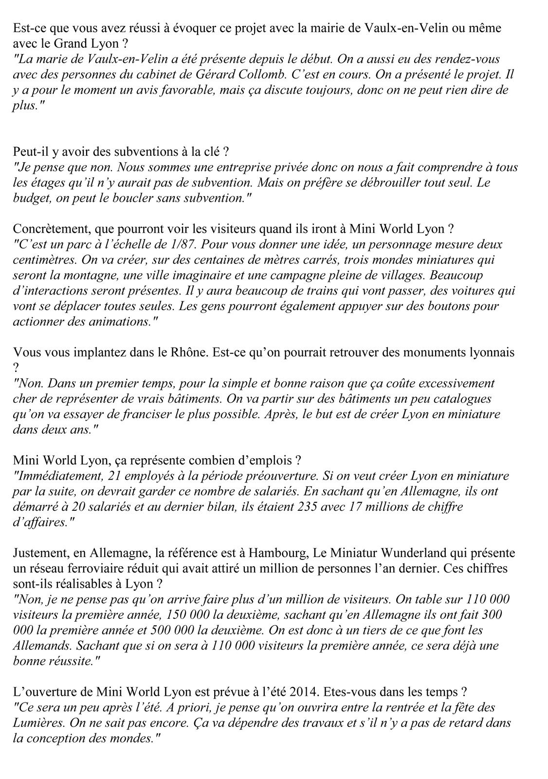 Interview Radio &quot&#x3B;Ca Jazz à Lyon, 17 mai 2013 en partenariat avec Lyon Mag
