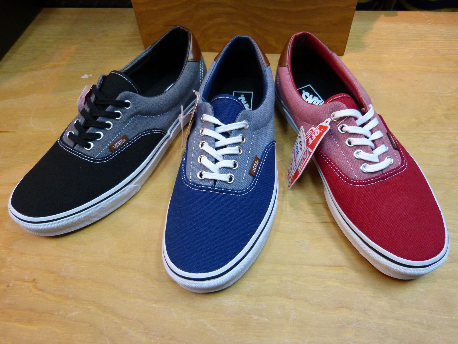 Vans Era Canvas &amp&#x3B; Chambray Pack