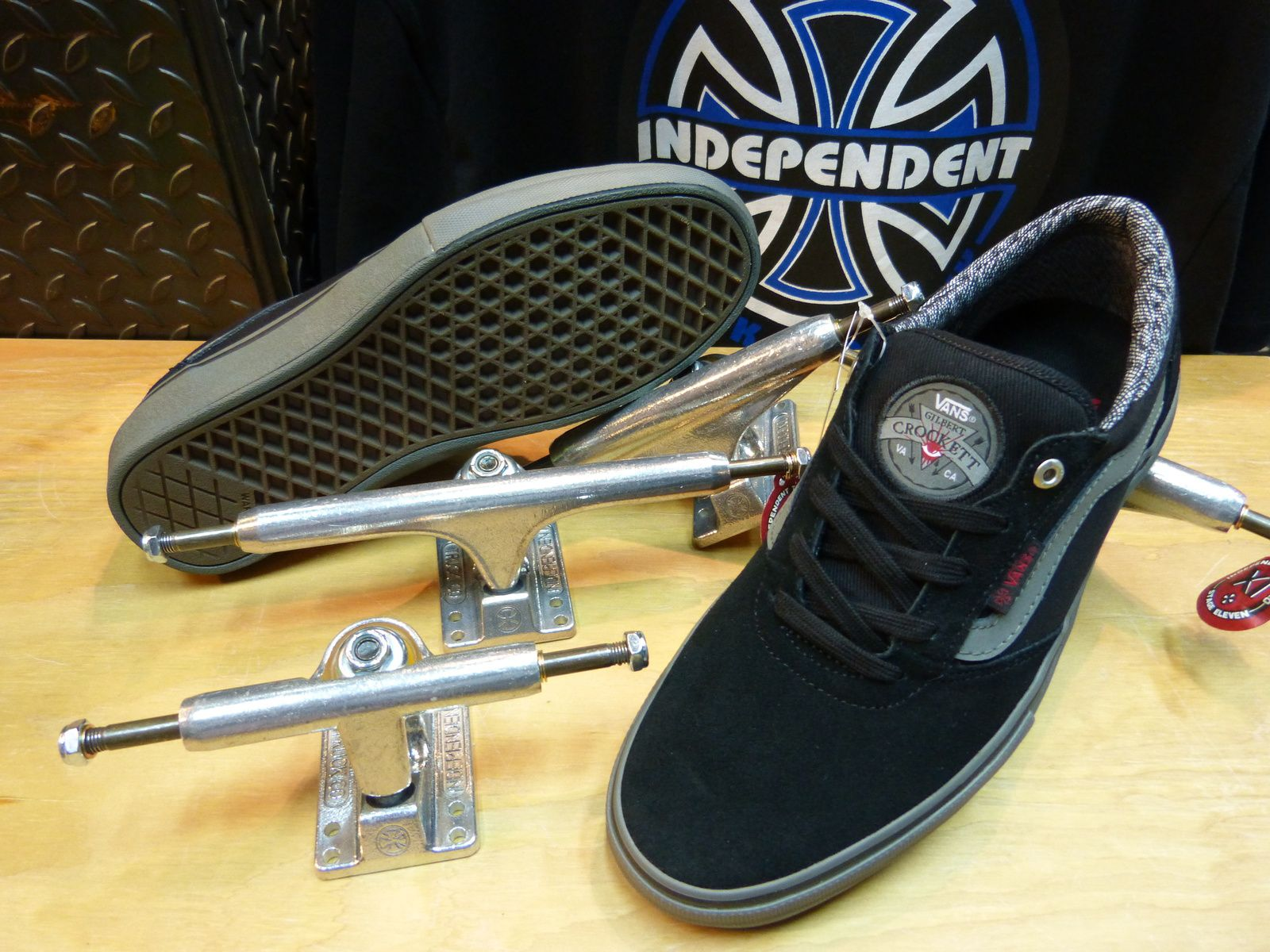 VANS X INDEPENDENT TRUCKS
