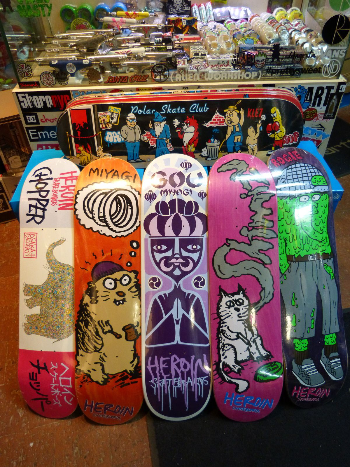 New Boards US &amp&#x3B; Euro