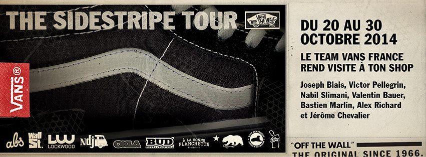 VANS Sidestripe Tour