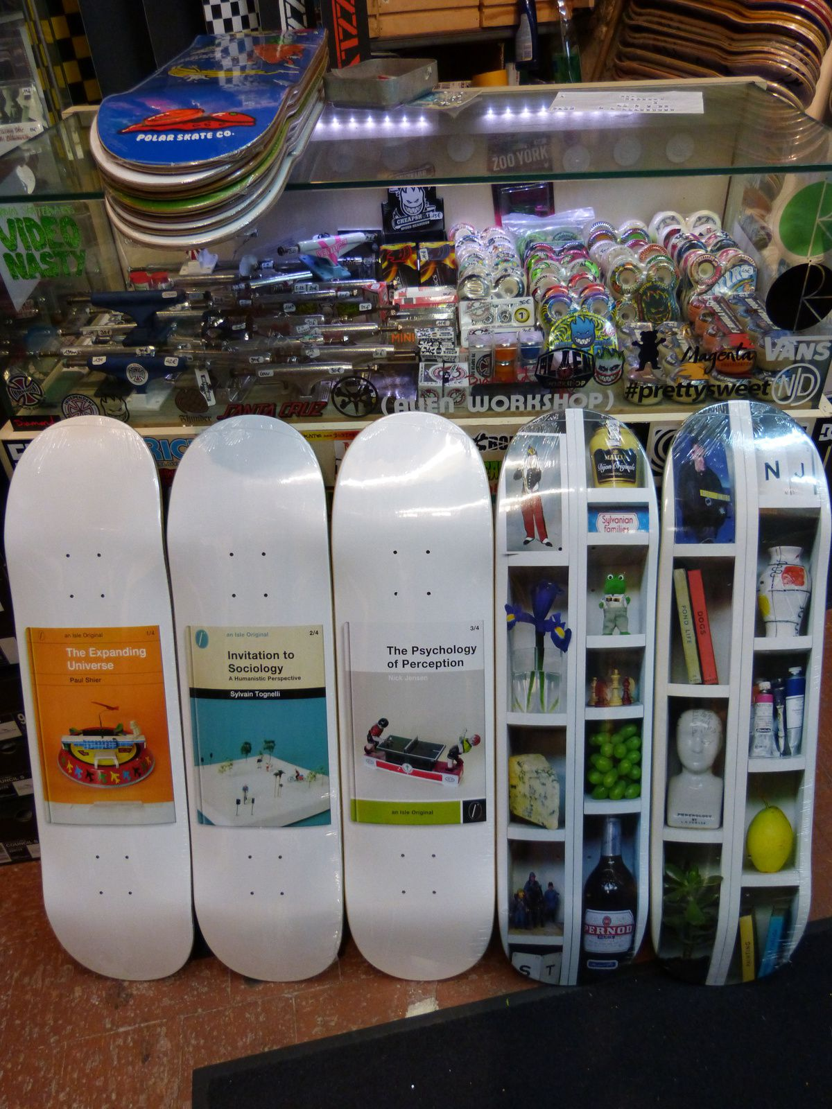New Boards Polar, Héroin &amp&#x3B; Isle !