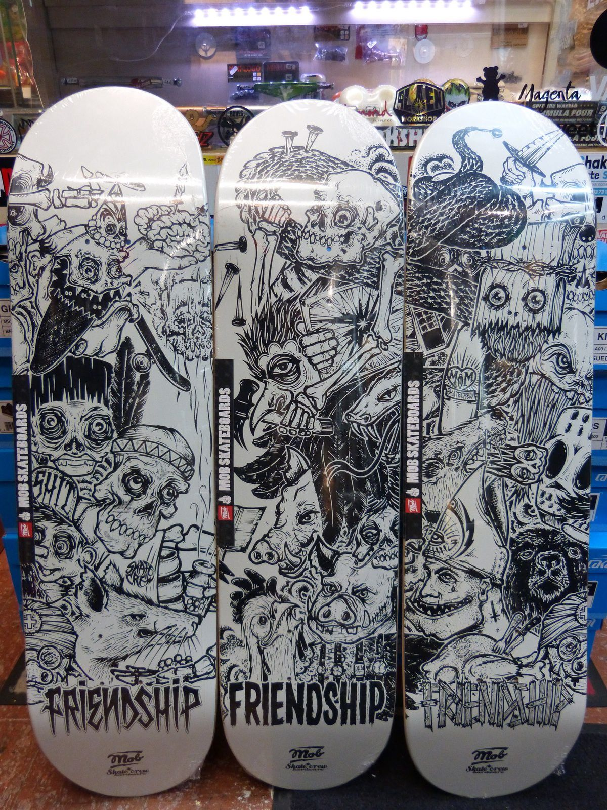 Back To School !! Independent &amp&#x3B; Mob Skateboards