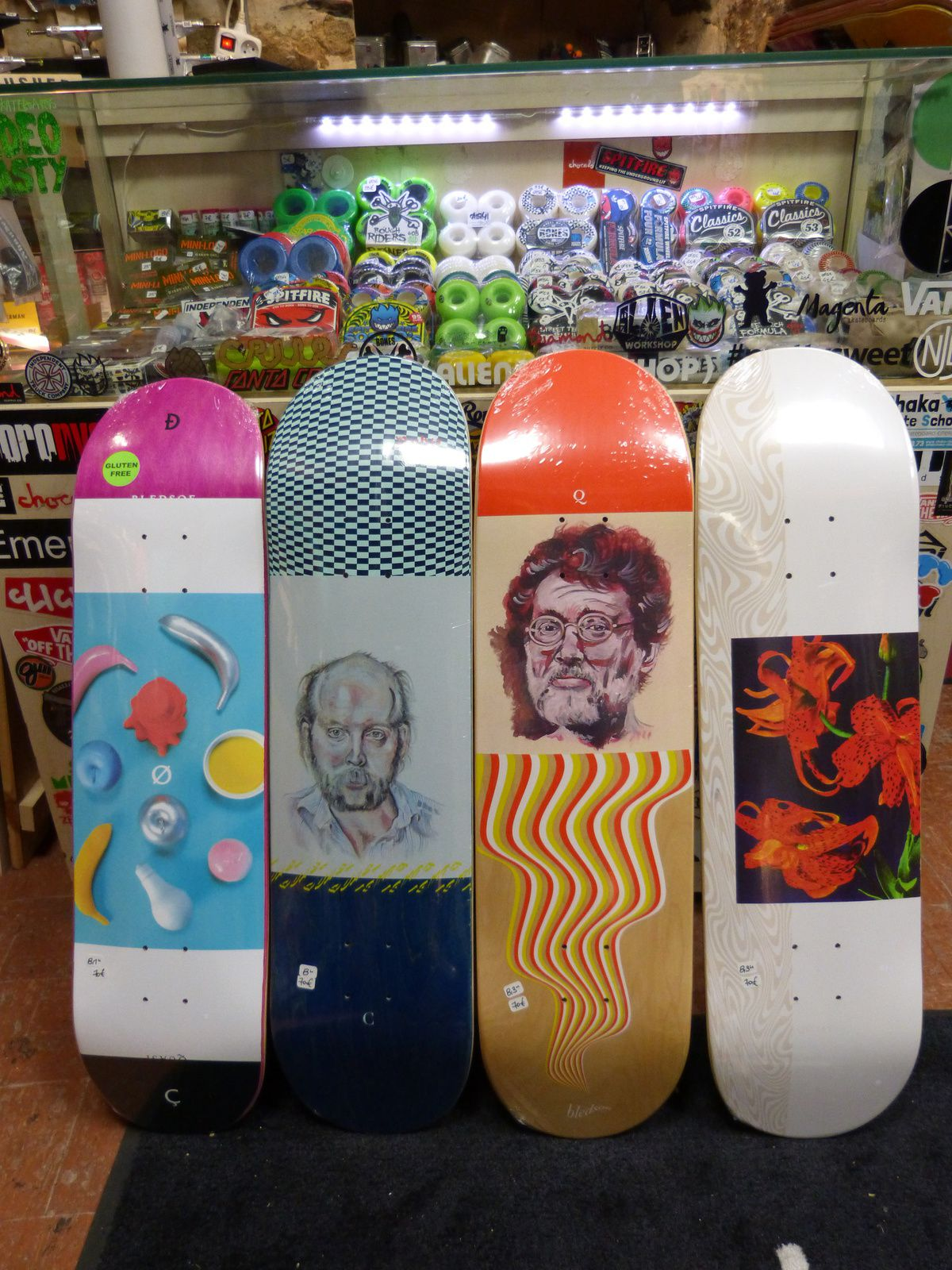 Welcome, Quasi &amp&#x3B; The National Skateboards