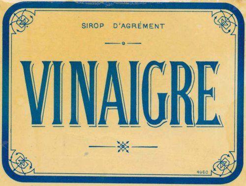 Le vinaigre blanc dans la bulle de vanessa pas pas - Vinaigre blanc et vinaigre d alcool ...