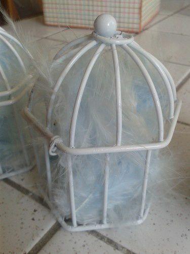 Déco : Petites cages à oiseaux