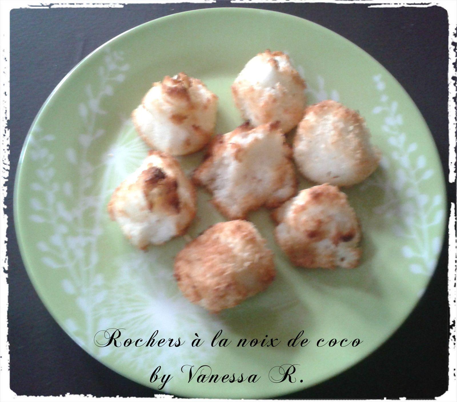 Rochers à la noix de coco {cadeau gourmand}