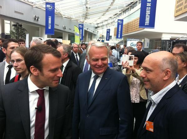 François-Régis Chaumartin rencontre Emmanuel Marcon et Jean-Marc Ayrault