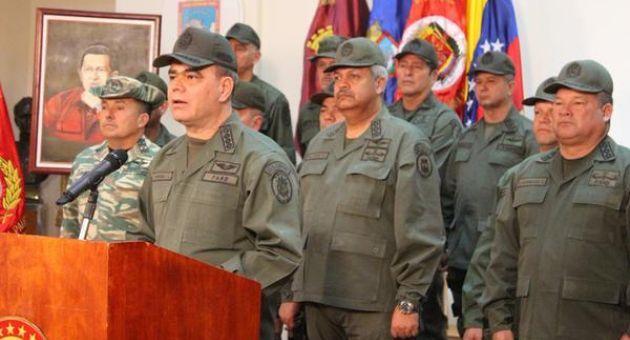 Venezuela: Communiqué des FANB sur les déclarations de John Kelly