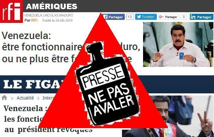 Venezuela: comment les médias manipulent notre point de vue
