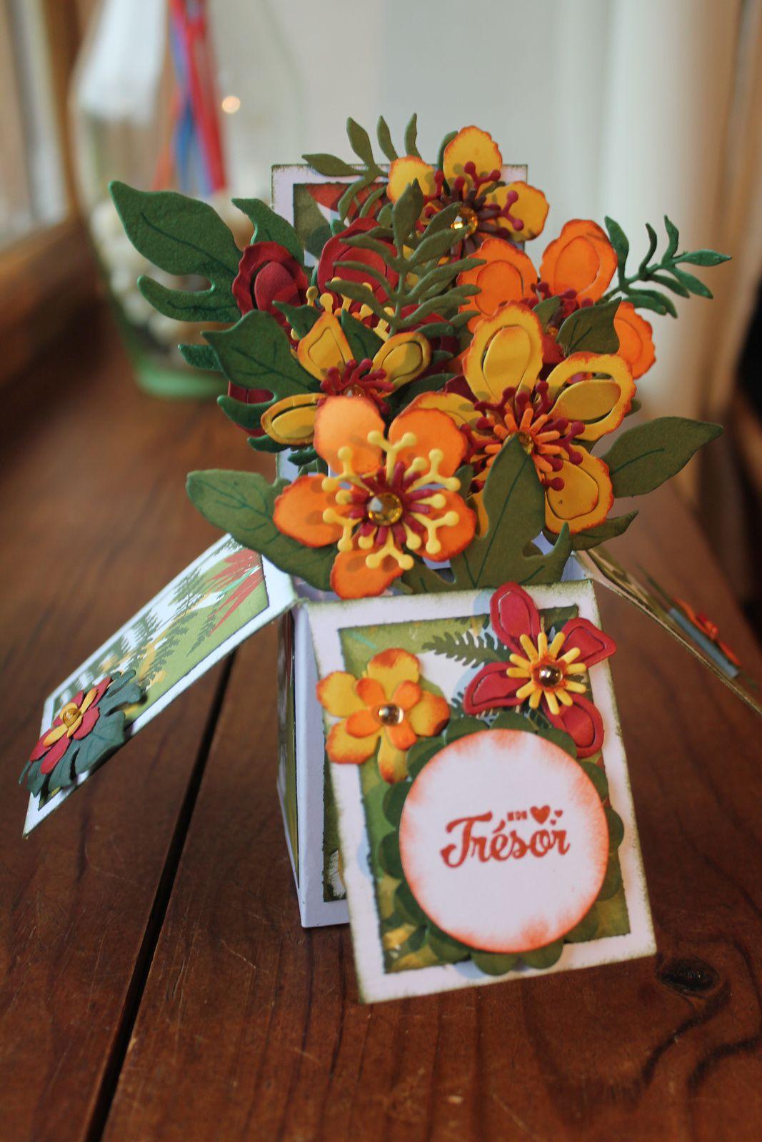 Boîte avec die Botanical Builder ou Paysagiste
