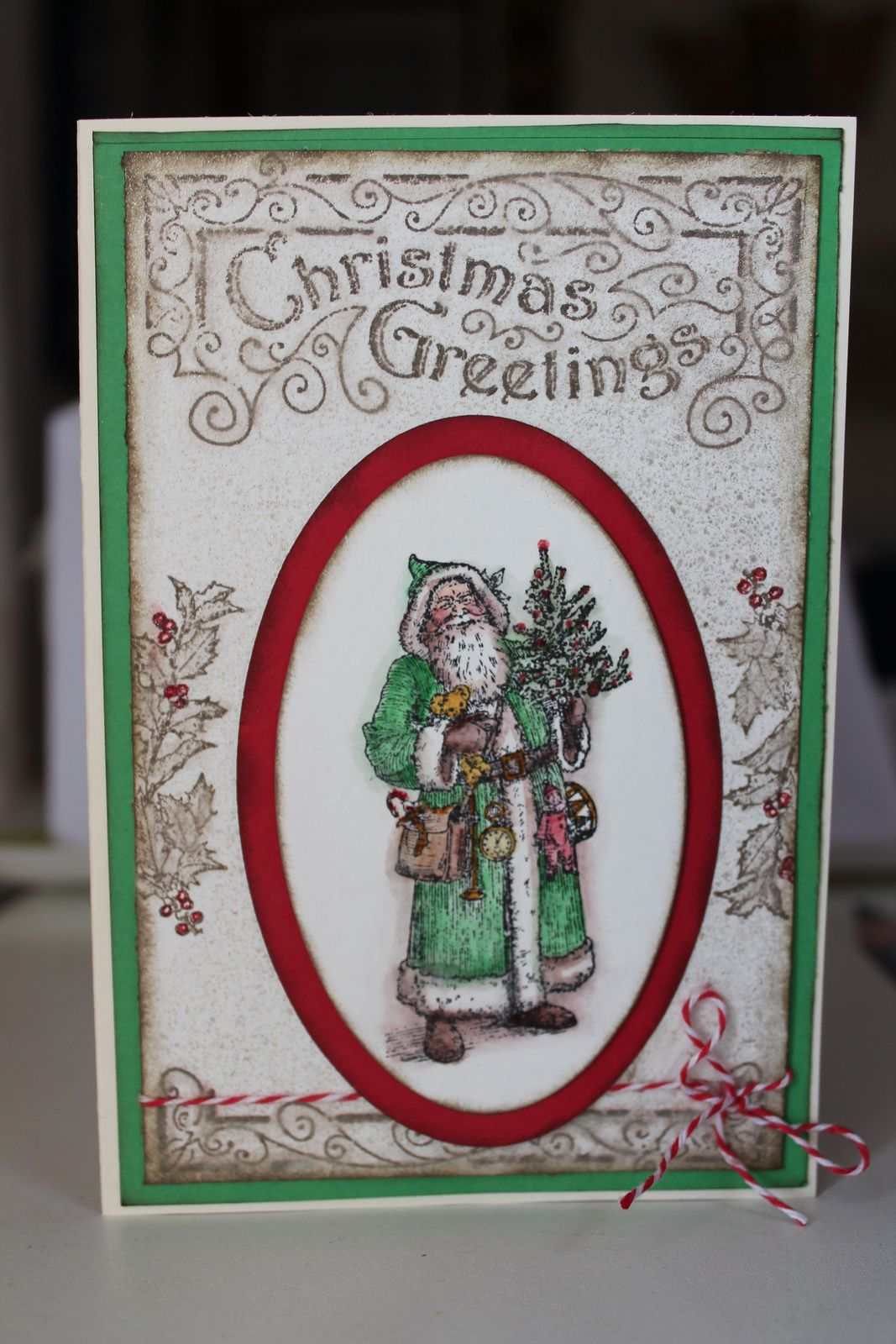 Father Christmas Stampin'Up