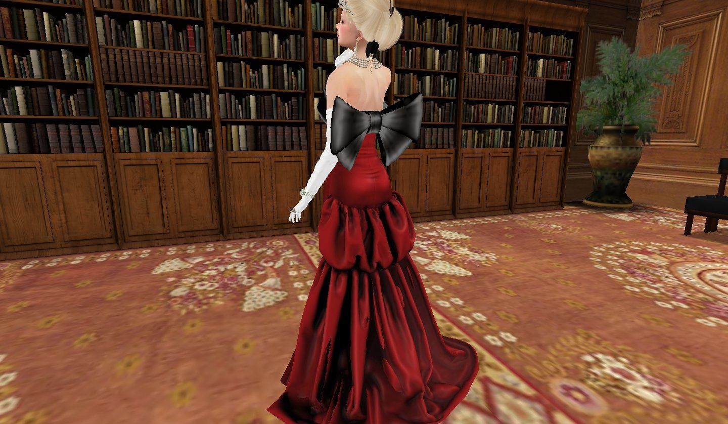 I'll die for a red gown