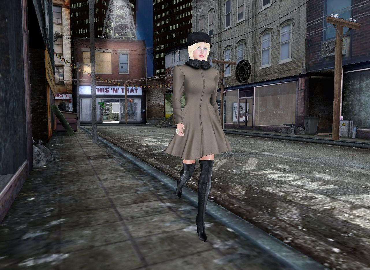 Buttoned up coat by [hh]