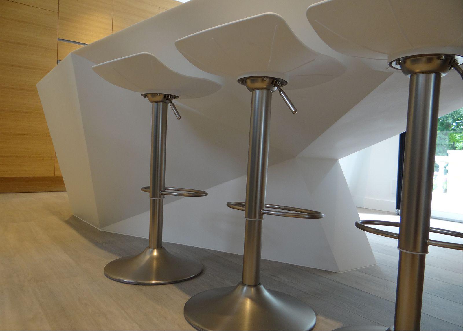 Une cuisine sculpturale à Sautron