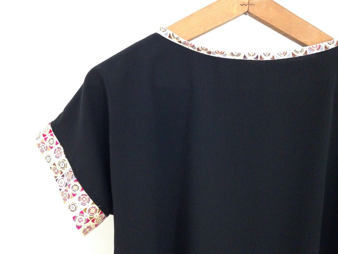 top blouse à manches kimono Made in France