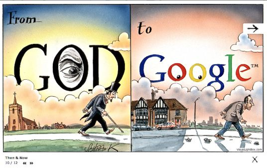 FROM GOD TO GOOGLE