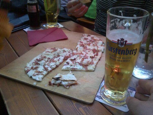 Apéritif à Freiburg (Allemagne)