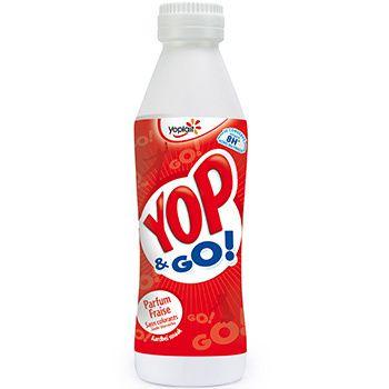 une bouteille de YOP