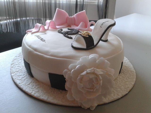 Gâteaux haute couture.