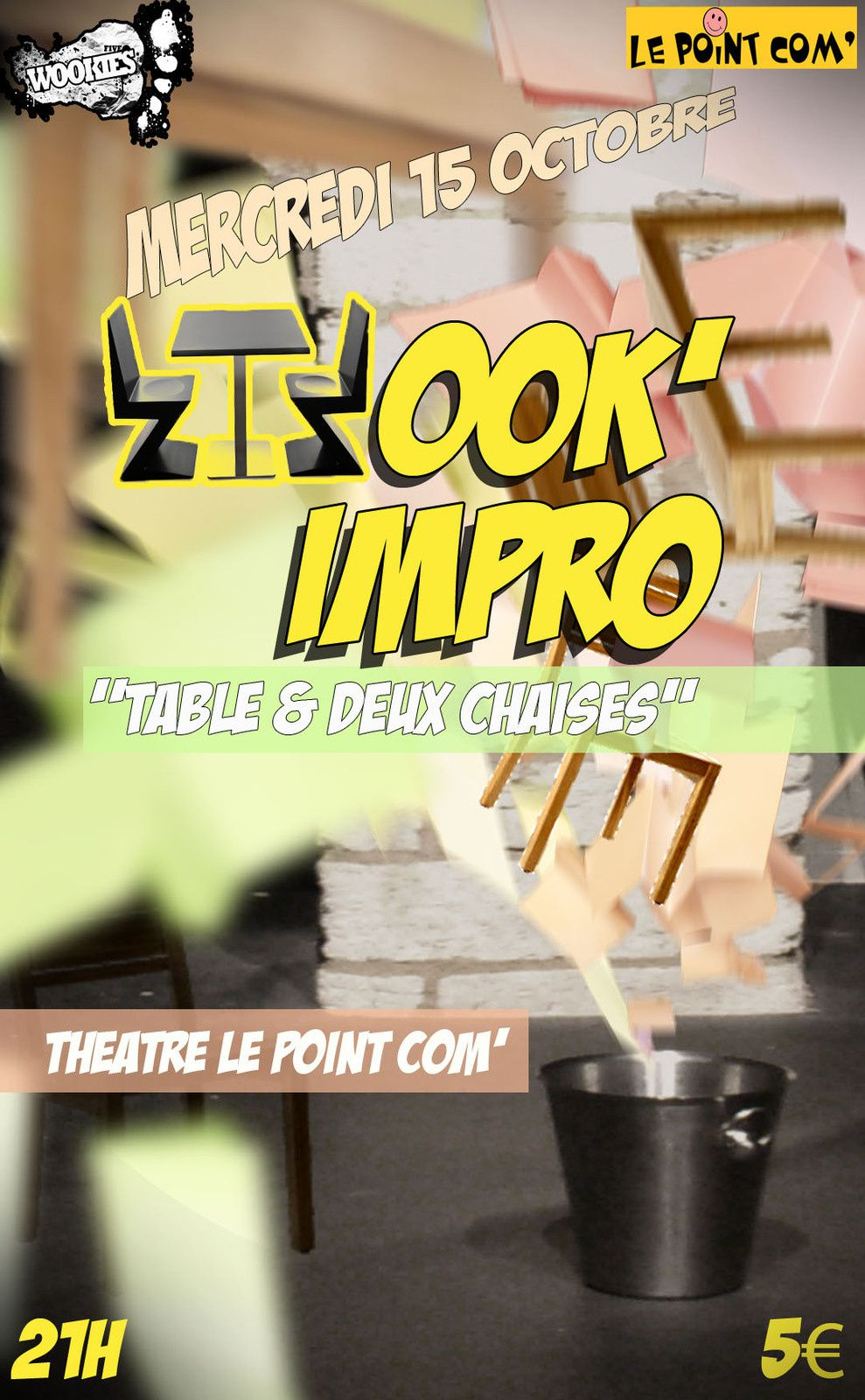 WOOK'IMPRO: Table &amp&#x3B; Chaises