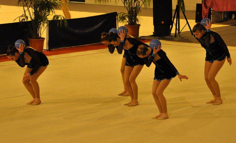 L'équipe DC2 junior de MENNECY GR championne départementale