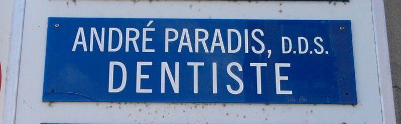 Et si finalement l'Éden se trouvait chez un arracheur de dents ?