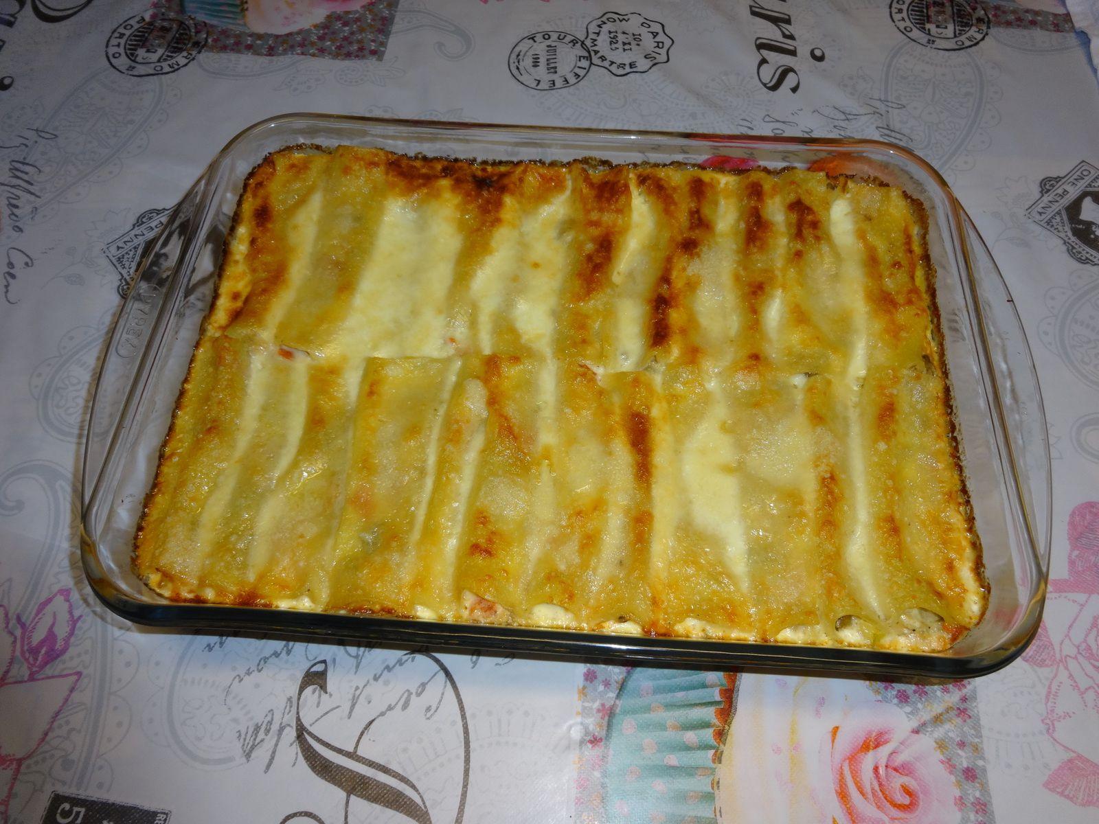 cannelloni au légumes du soleil