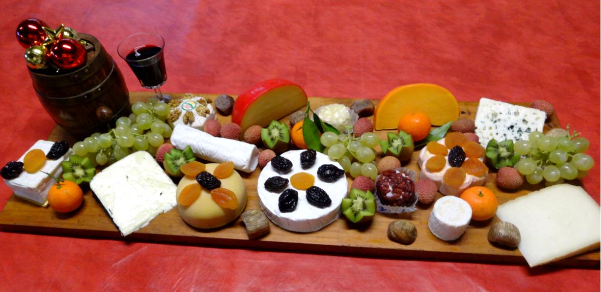 plateau de fromage noël 2014