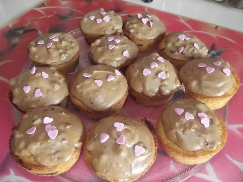 Cupcake aux Snickers