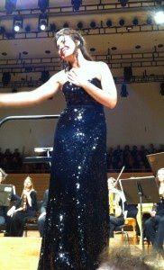 28 janvier 2014 - Sonya Yoncheva à Pleyel.