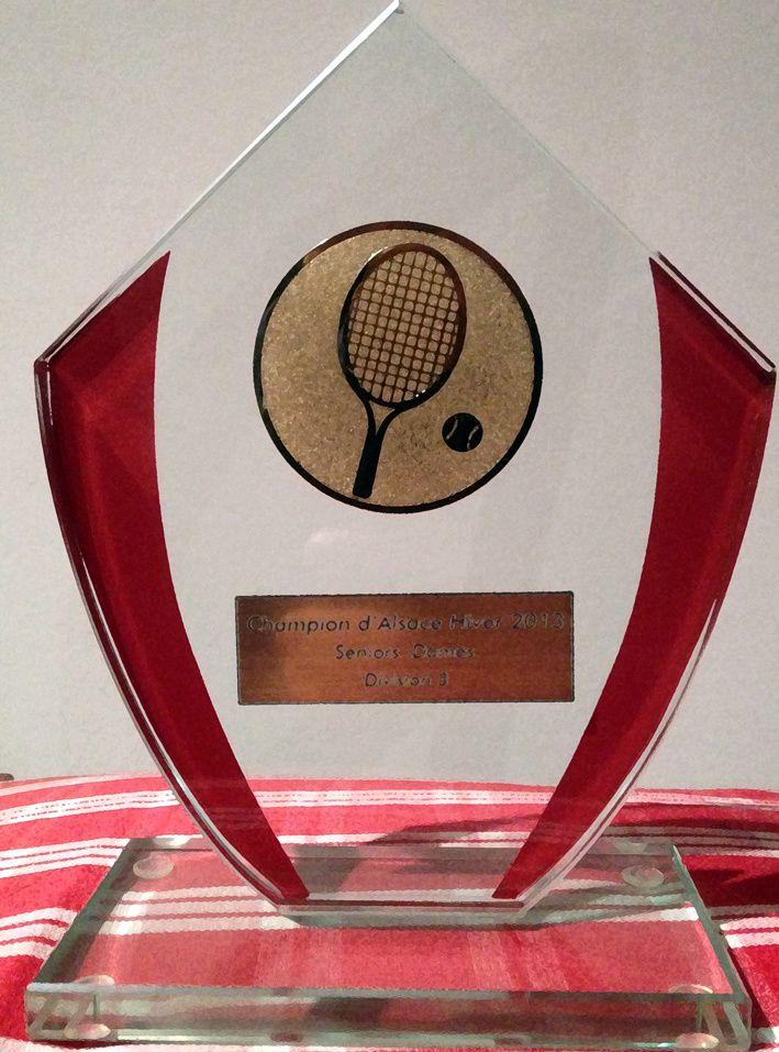 Trophée 2013 Championnes d'Alsace Hiver Div.3