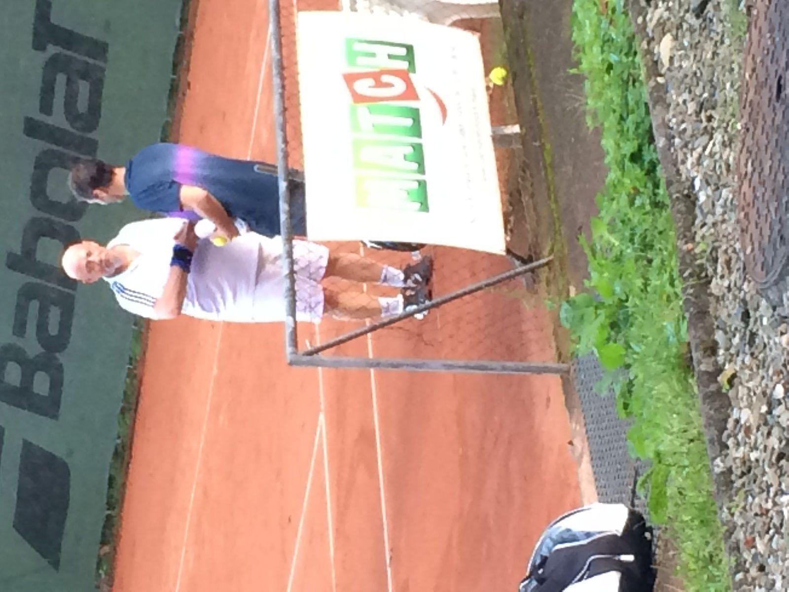 Moments de partage tennistique...