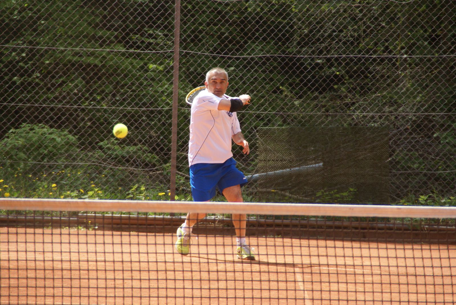 Soleil sur le tennis thannois ce week-end !