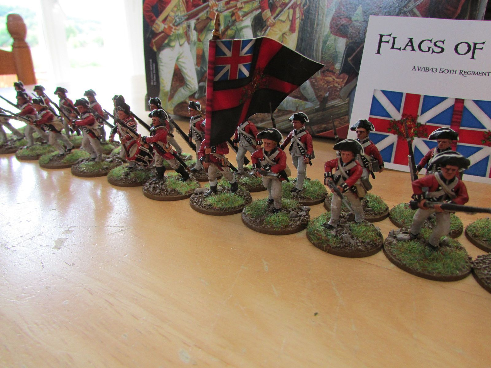 Perry Miniatures: American War of Independence British Infantry 1775-1783