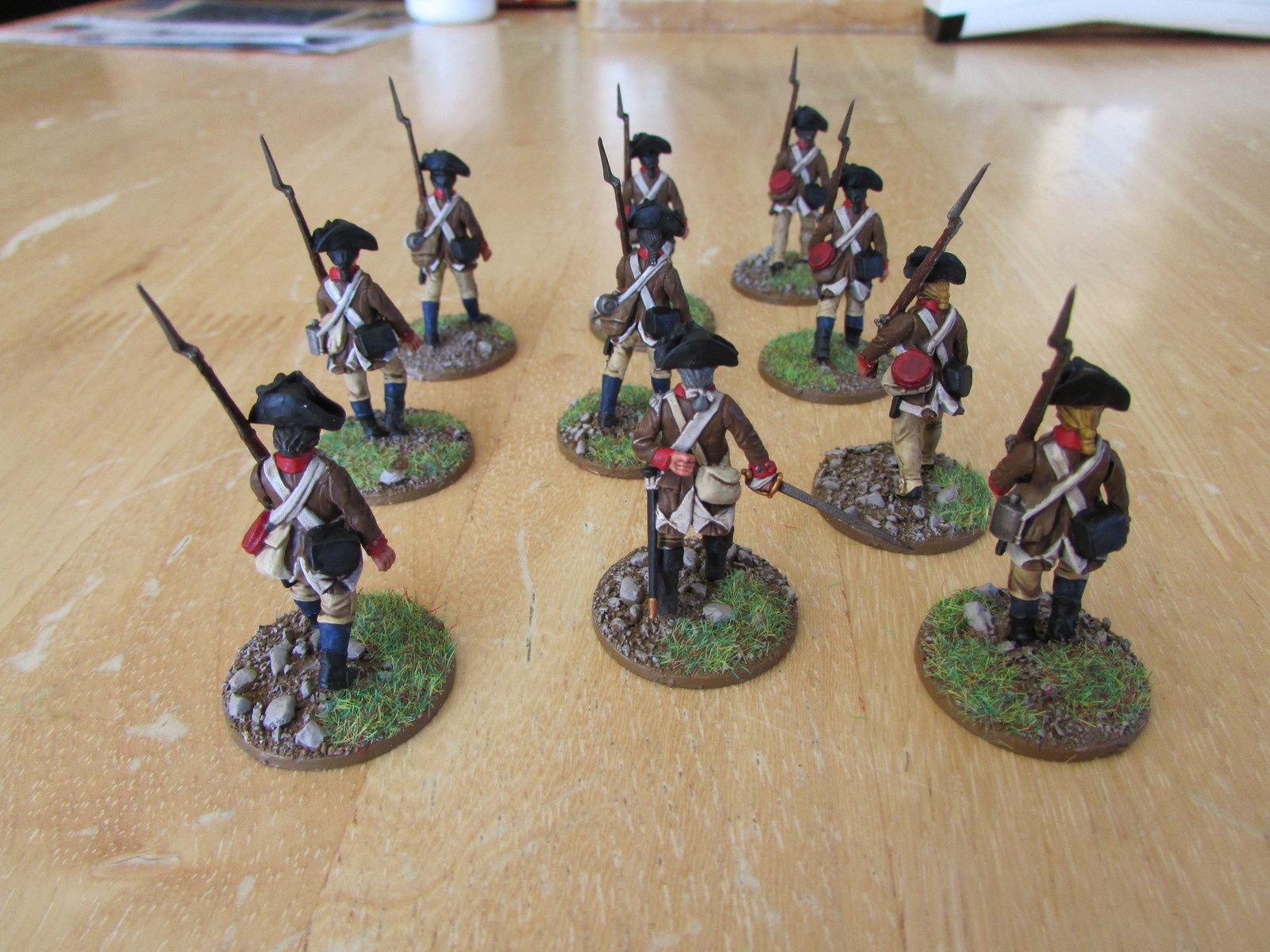 AWI continental infantry