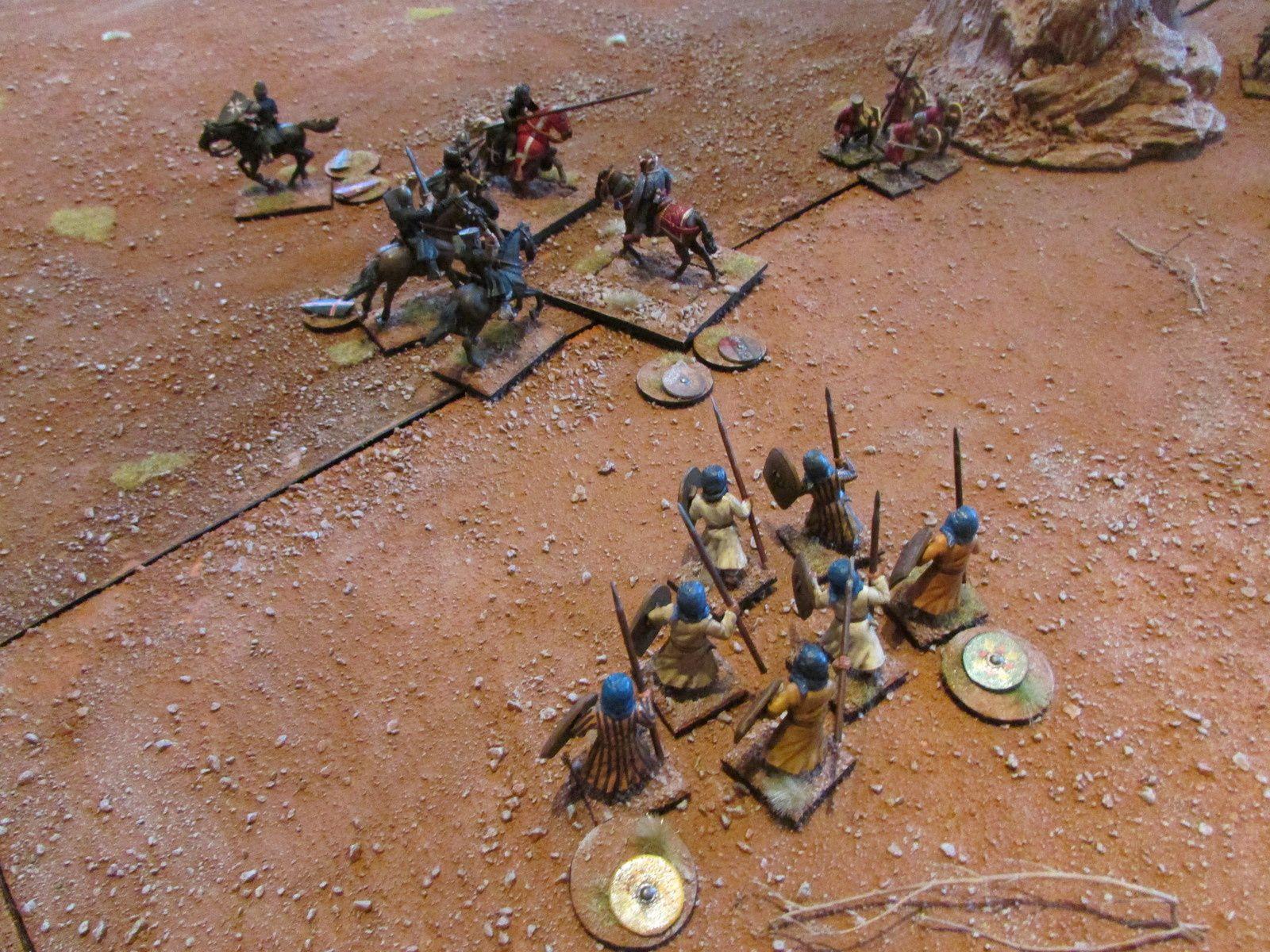 Mais le seigneur El biak, les bedouins et les archers vont rendre coup pour coup...