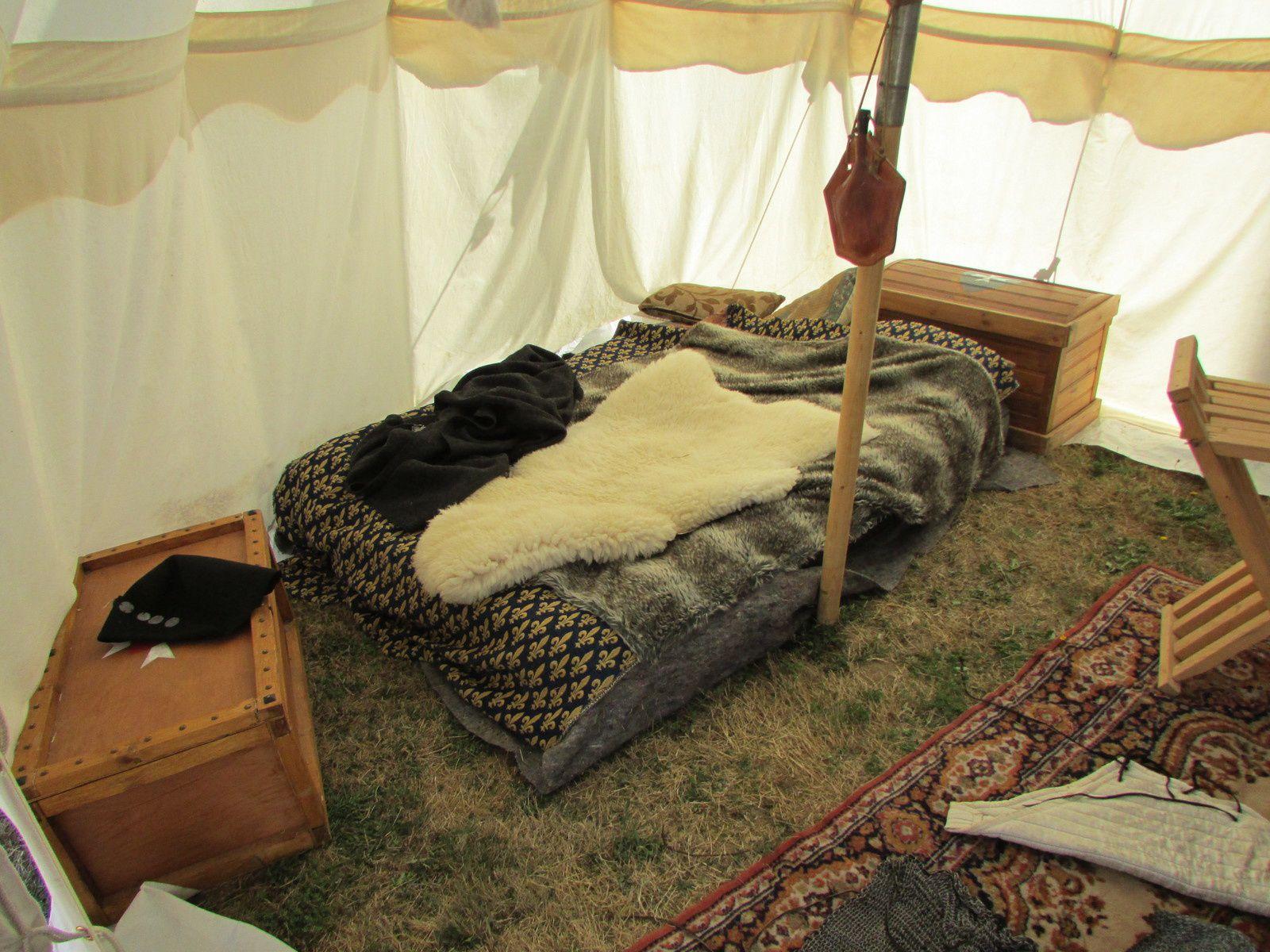 La tente d'un seigneur Hospitalier.