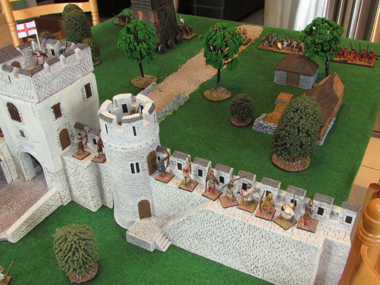 Les habitants des alentours ont déserté les environs, le Comte de York quand à lui prend place dans sa forteresse et prépare l'acceuil des visiteurs...