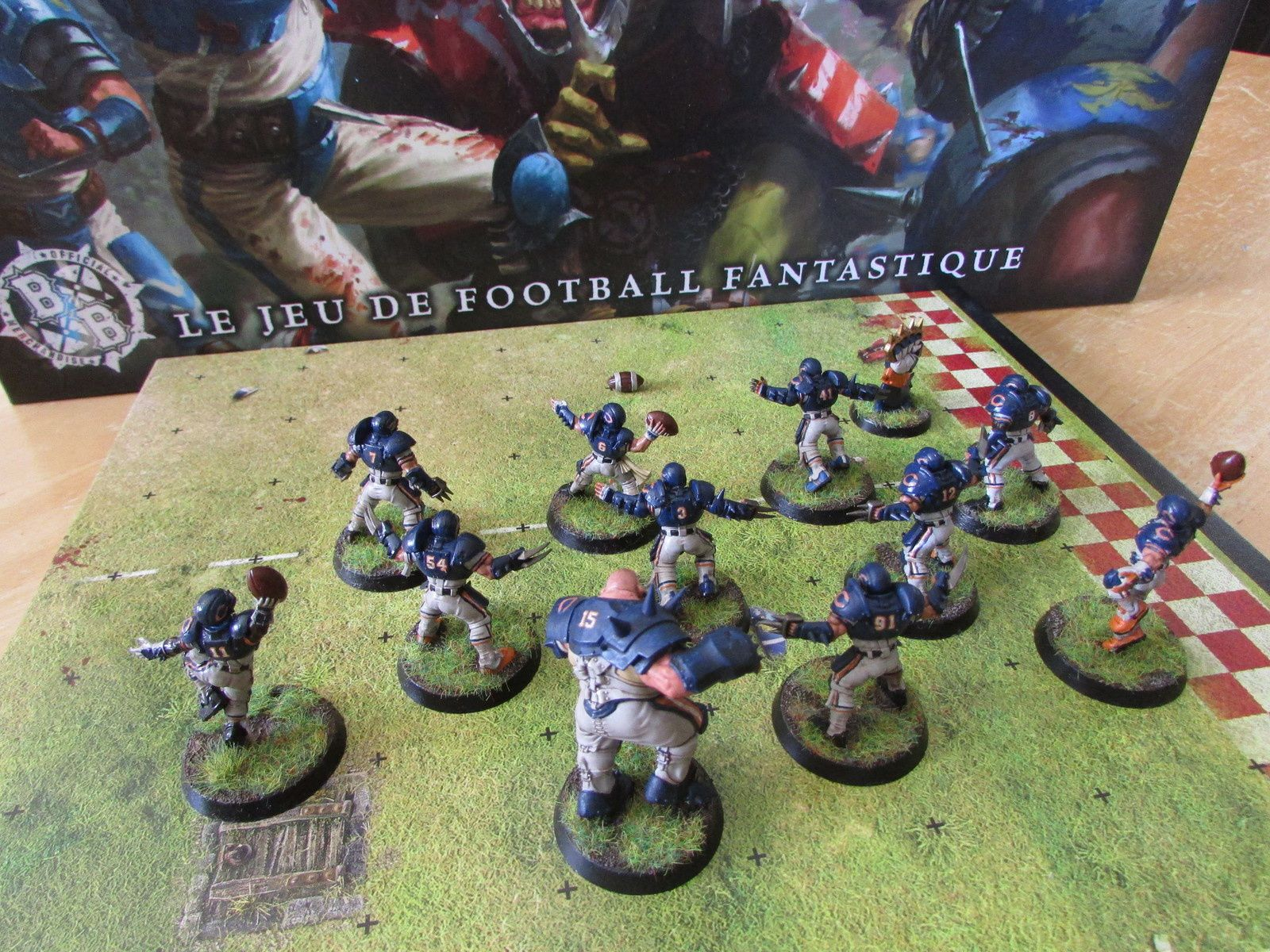 Blood Bowl Lancement